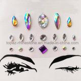 Crystal Ab Jewelry Skin Sticker Rhinestone Body Sticker (S023)