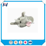 Cute Soft Warm Elephant Stuffed Animal Head Slippers
