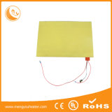 240V Heating Golden Supplier Slicone Rubber Flexible Hot Plate