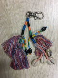 Handmade Tassel with Shell for Hangbag, Key Ring /Chain