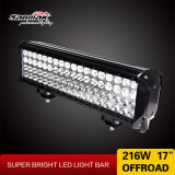 Automobile 17′′ 216W LED Offroad SUV LED Work Light Bar