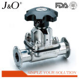 Super Sanitary Stainless Steel Pneumatic Diaphragm Valve