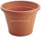Round Plastic Barrel Planter (KD7111-KD7113)
