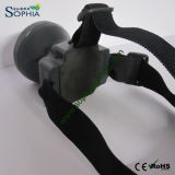 Rechargeable Headlight, LED Head Lamp, Bicycler′s Lamp, Camping Light,