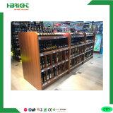 Wooden Bottle Wine Display Showing Rack Shelf