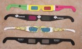 Disposable Paper 3D Glasses for PC
