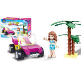 14881101-City Friends Girl Series Summer Beach Swimsuit Girl Sailing Vehicle Car Princess Action & Toy Figures Kids Toys