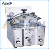 Mdxz25 Gas Vertical Pressure Fryers (Manual Panel Version With Oil Pump)