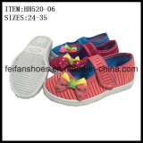 New Arrival Children Casual Shoes Factory Injection Canvas Shoes (HH520-06)