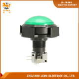 IP40 Protection Level 16A 250V Green Push Button Switch Pbs-006