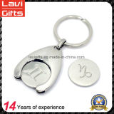 Hot Sale Zinc Alloy Die Casting Trolley Coin Keyholder