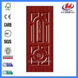 Cheap MDF HDF Melamine/ White Primer/ Veneer Mould Laminated Door Skin