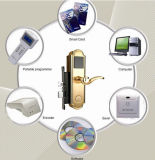 Smart RF Hotel Door Card Locks European Standard