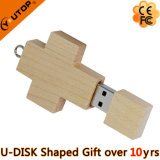 Cross Wooden USB Flash Disk (YT-8112)