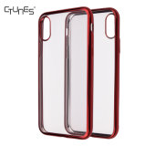 C&T Soft Transparent TPU Clear Hybrid Shock Absorbing Back Panel Bumper Case for Apple iPhone 8