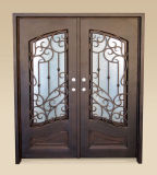 High Quality Europe Style Wrought Iron Door