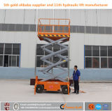 Ce Approved Hydraulic Mobile Personal Scissor Lift for Maintenance