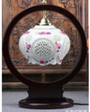 Chinese Antique Furniture - Porcelain Desk Lamp