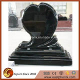 Natural Black Granite Stone Tombstone