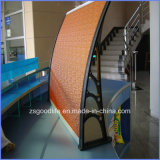 Orange 2.3mm-5mm Polycarbonate Awnings for Doors and Windows
