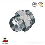 Hydraulic Adaptor JIS Gas Male 60 Degree Cone/ BSPP Male O-Ring 1sg