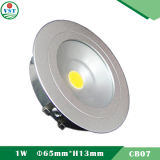 Ultra Slim 3W LED ceiling Down Light Application for Shop Area Illumination
