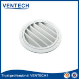 China Supplier Rainproof Round Louver for Ventilation Use