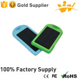 Multicolor Portable Solar Charger 5, 000mAh Power Bank