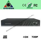4CH H. 264 (720P) CCTV Security Camera DVR (EV-CH04-N1206A)