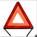 High Visibility Car Safety Reflective Warning Triangle with E-MARK