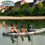 Double Seats Sit on Top Kayak for Family Use