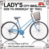 26 Inch Light Roadster City Bicycle for Lady (AYS-2615S)