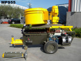 Manufacturer of High Pressure and Small Slurry Pump Mortar Spraying Machine with Mixer Hopper