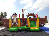 France Customer New Giant Combo Inflatable Pirate Boat for Sale