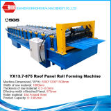 China Color Metal Roof Tile Roof Panel Roll Forming Machine Price