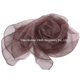 Fashion Ladies Classic Grid Scarf Voile for Spring Women Shawl