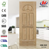 Oak Veneer Moulded HDF/MDF Door Skin (JHK-015)