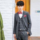 High Quality Suit, 3 Buttons, Notch Lapel, Men′s Formal Suit