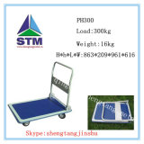 Kitchen Tool Stainless Steel Platform Hand Trolley (Support Cusomization)