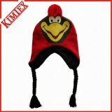 Customs Promotional Knitted Animal Cap Hat with Earflap