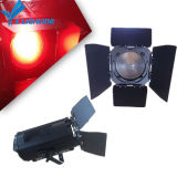 200W RGBW 4in1 LED Fresnel Spotlight with Zoom for Stage Theater Lighting