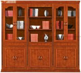 Chinese Modern Veneer Office Book Cabinet Wood Furniture (HY-C903)