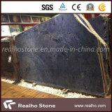 Blue Sodalite and Azul Macaubas Granite Slabs