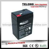 6V6ah Valve Regulated Lead Acid Battery for Flash Light
