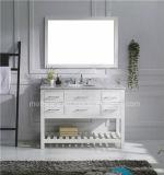 Transitional Single Sink Wooden Bathroom Vanity