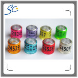 Custom Printing Number and Letter Band Pigeon Ring