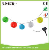 Chinese Lantern Outdoor Solar LED Garden Festival Holiday String Lights