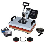 5 in 1 Sublimation Mug T-Shirt Heat Press Transfer Printing Machine for Sales
