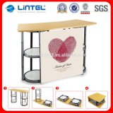 Tool Free Assemble Foldable Aluminum Display Table