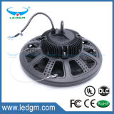 2017 IP65 Waterproof UL Dlc Ce RoHS TUV GS SAA Approved UFO 100W to 200W LED High Bay Light with Meanwell Driver Industrial Wholesale